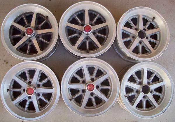 6 J-Body alloy wheels found on Craigslist in Yucca Valley ...