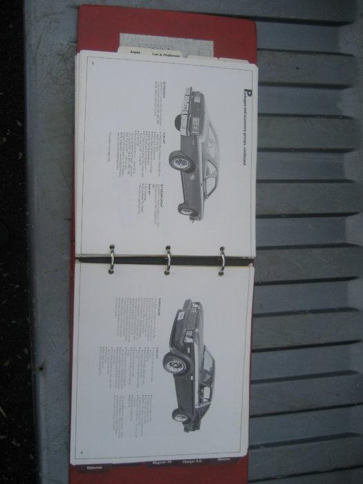 1978 Dodge Data books (9).JPG