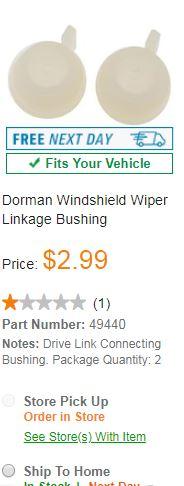 autozone wiper linkage bushings.JPG