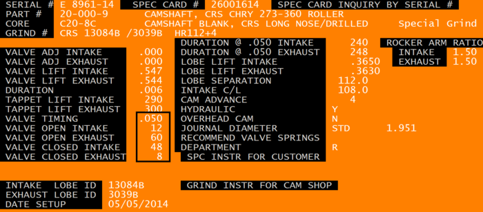 COMP_CAMS - XR292HR-10 - Hydraulic Roller Cam Custom Grind Spec Card.png