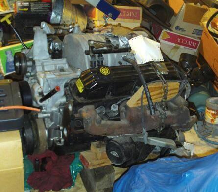 Low Mileage 1998 5 9 litre (360) Dodge Magnum Engine, stored