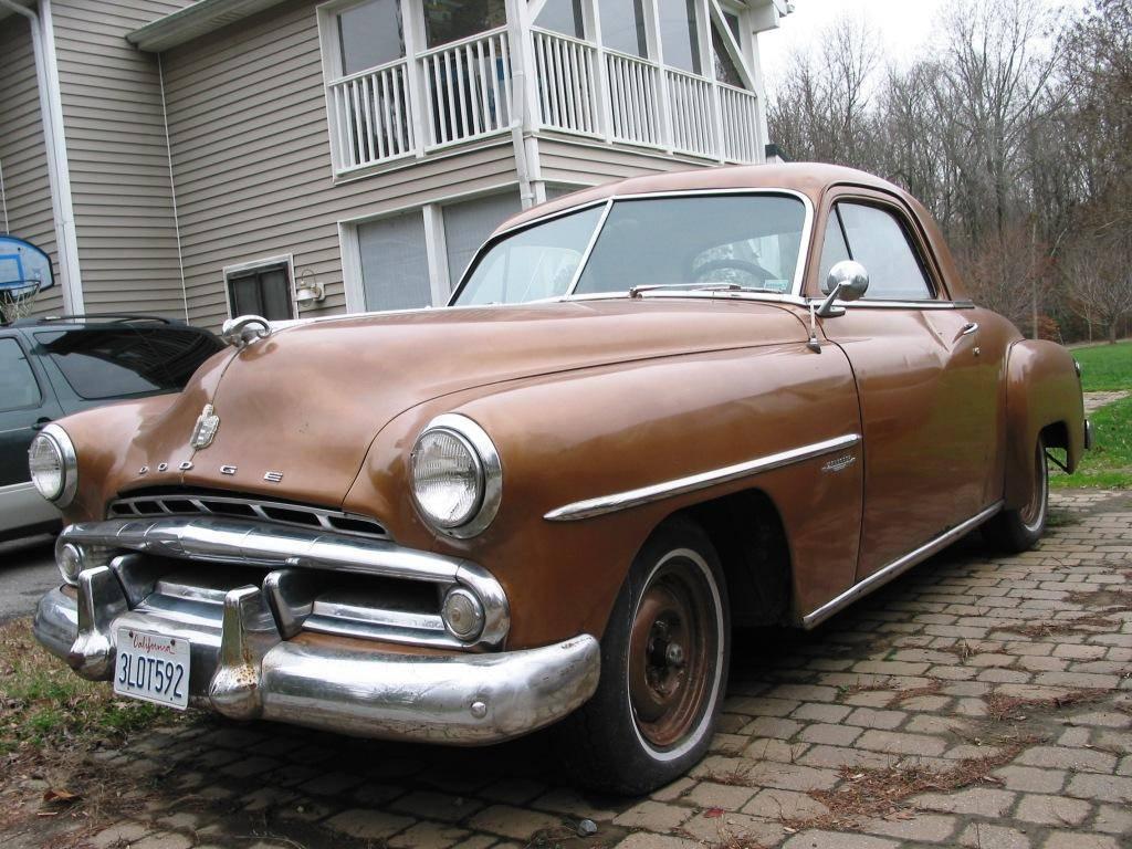 """FOR SALE - 1952 Dodge Wayfarer Roadster Two Door """"Business ..."""