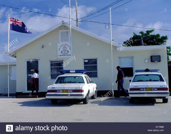 police-station-and-cars-cayman-brac-cayman-islands-cayman-islands-A1TA6B.png