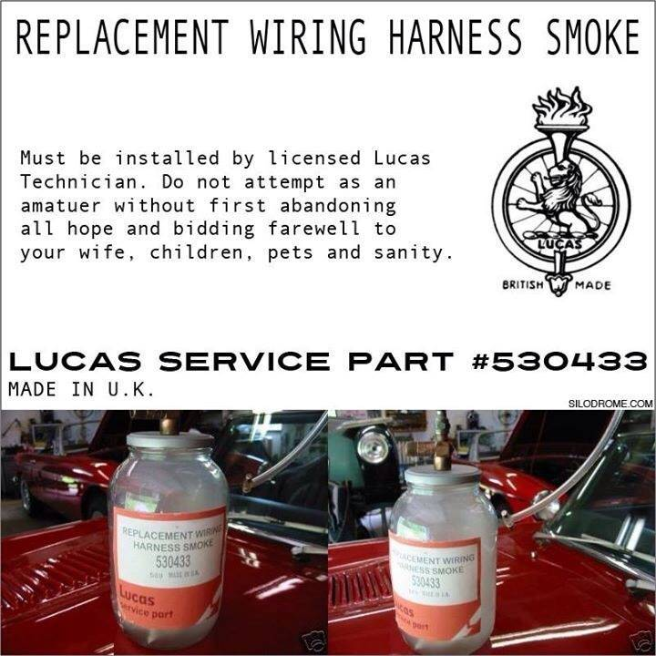 lucas wiring harness smoke auto electrical wiring diagram u2022 rh 6weeks co uk